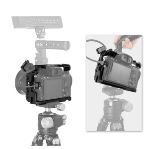 Image 4 - Selens a7iii a7r3 a7m3 jaula para Sony A7RIII /A7III/A7MIII jaula de aleación de aluminio para montar trípode Kit de extensión de liberación rápida 2087