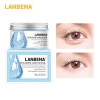 LANBENA Hyaluronsäure Auge Maske Augenklappe Auge Pflege Reduziert Augenringe Taschen Auge Linien Ageless Heben Straffende Hautpflege 50PCS