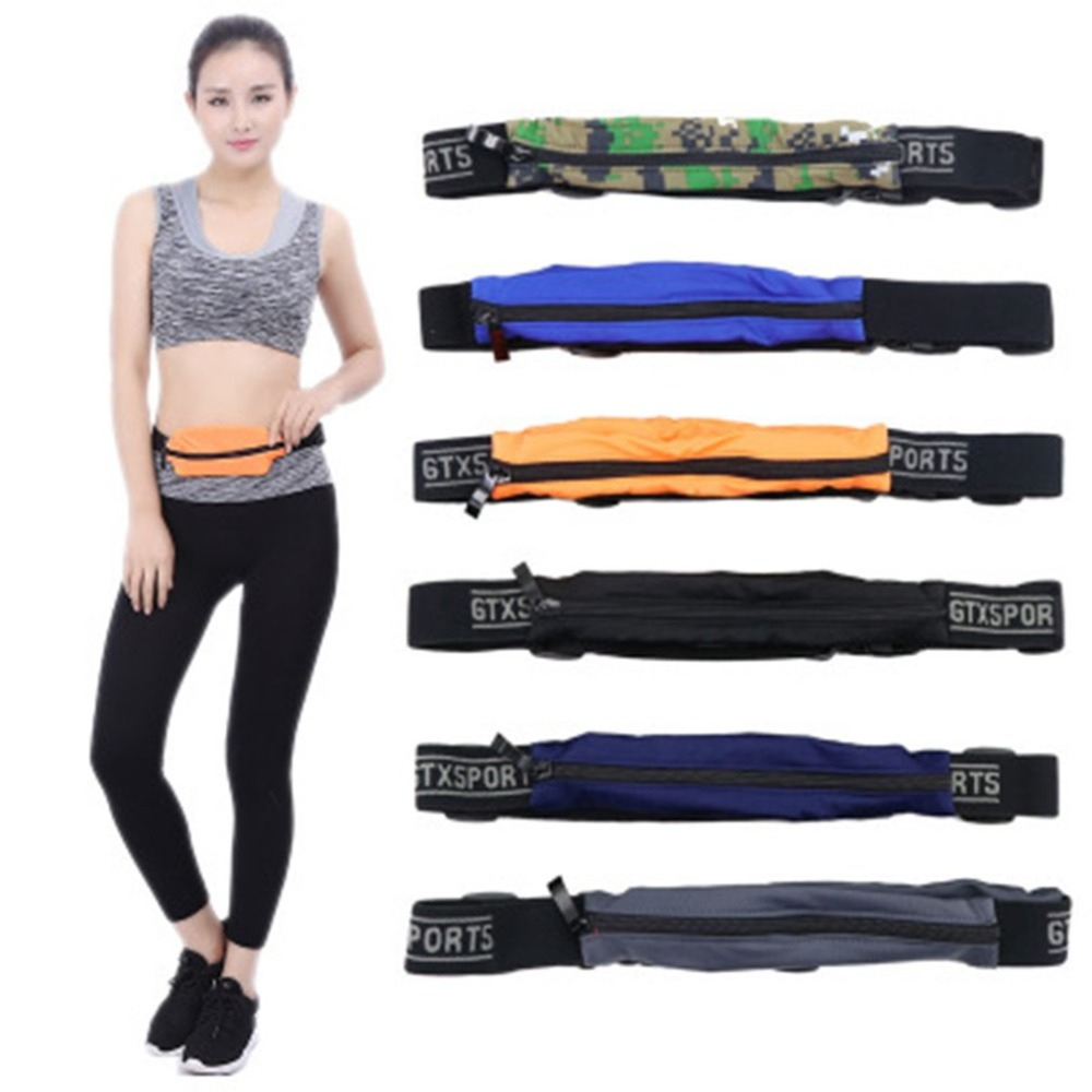 Men Women Waist Belt Running Bag Breathable Multifunctional Unisex Sport Cycling Waterproof Sweatproof Waist Pack 2018 Hot Sale