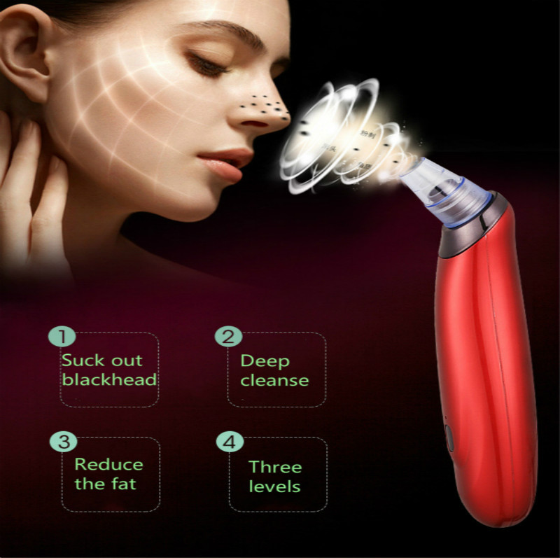 Blackhead Remover Facial Skin Care Pore Vacuum Acn