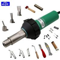 HLTE D16 220V/110V 1600W Plastic Welding heat gun Hot Air Welder for PVC membrane PP/PE/PPR sheets,pipes water tanks/tower