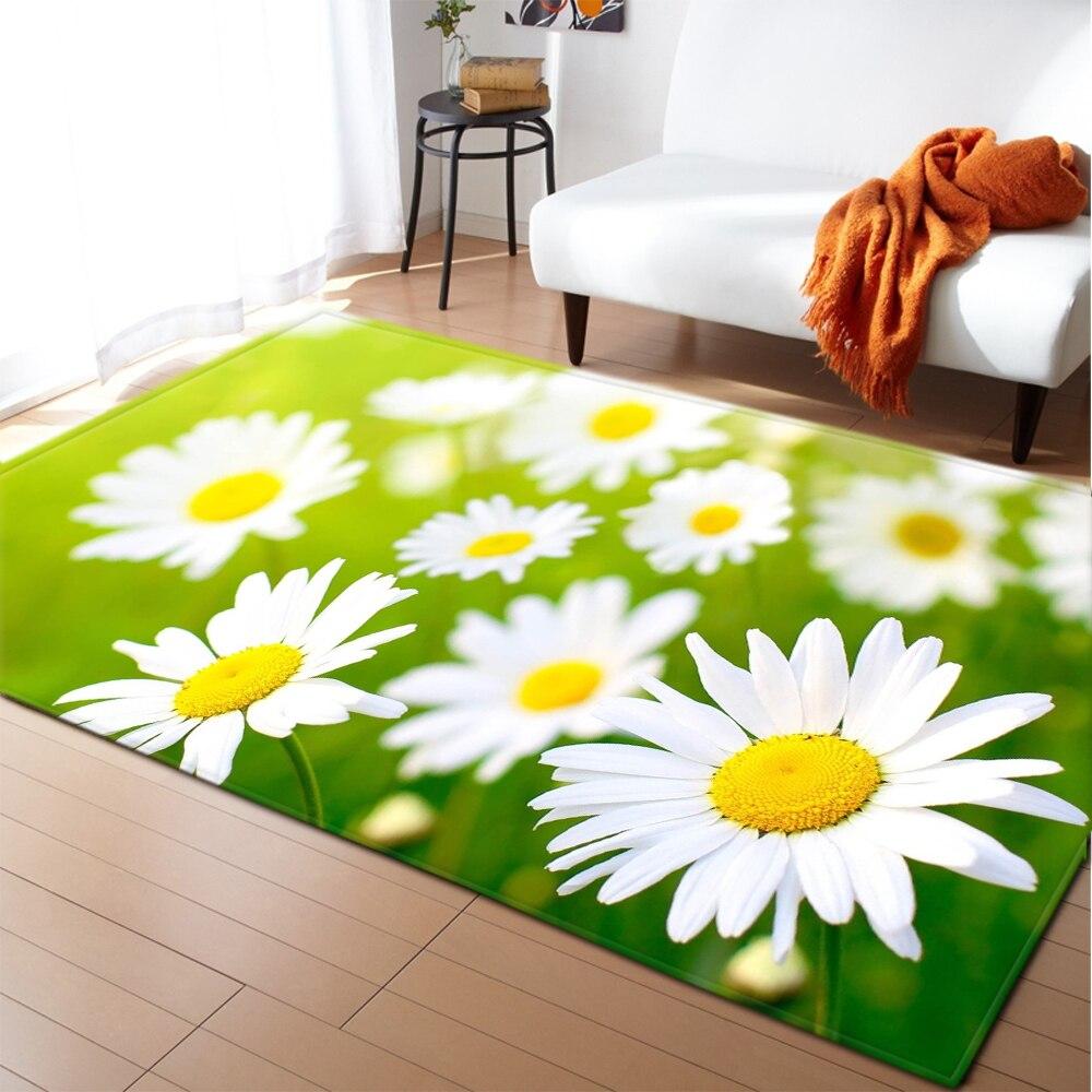Carpet Daisy Children Room Play Mat