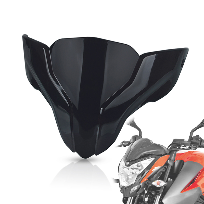 Motorcycle Windscreen Windshield For <font><b>BAJAJ</b></font> Pulsar NS200 <font><b>NS</b></font> <font><b>200</b></font> Deflector Protector Motorbike Front Wind Screen Accessories image