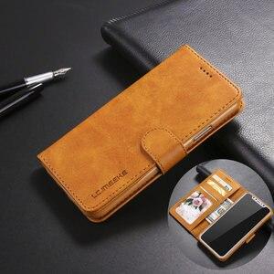 Image 1 - יוקרה עור Flip ארנק מקרה טלפון עבור iPhone Xr X Xs 11 פרו מקסימום עמיד הלם רך כיסוי עבור 7 בתוספת 8 6S 6 5 5S SE 2020 12 מיני