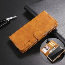 고급 가죽 플립 지갑 전화 케이스 아이폰 Xr X Xs 11 프로 최대 충격 방지 소프트 커버 7 플러스 8 6S 6 5 5S SE 2020 12 미니