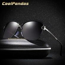 CoolPandas Brand Design Fashion Oversized Women Sunglasses Gradient Polarized Lens Travelling Female Glasses lentes de sol mujer