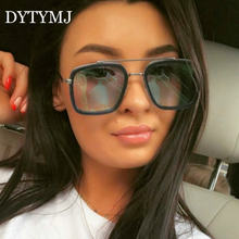 Dytymj сплав панк Для женщин солнцезащитные очки Винтаж квадратный