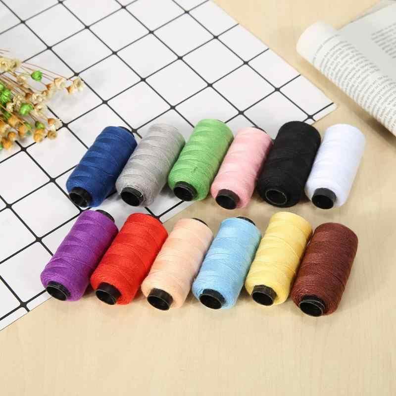 12 di colore Filo Per Cucire A Mano Per La Casa Macchina Da Ricamo Per Cucire Linea di Box Durevole Robusto Cucitura A Mano Design Compatto