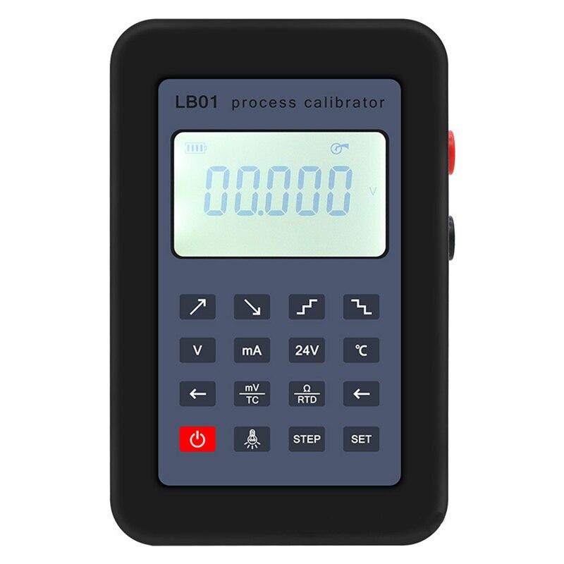 LB01 Thermocouple Current Voltmeter Signal Generator Source Calibrator Process Calibrator 4 20MA/0 10V/MV|Signal Generators| |  - title=