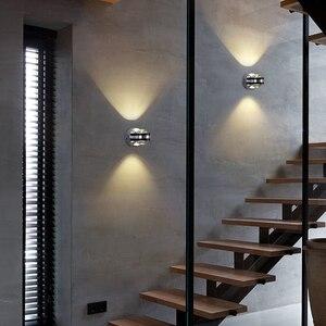 Image 5 - Đèn LED 6W Nhôm Đèn Đèn LED Nhà Đèn Đèn Tường Để Đầu Giường Phòng Khách Phòng Ngủ Đèn Treo Tường BL01 B