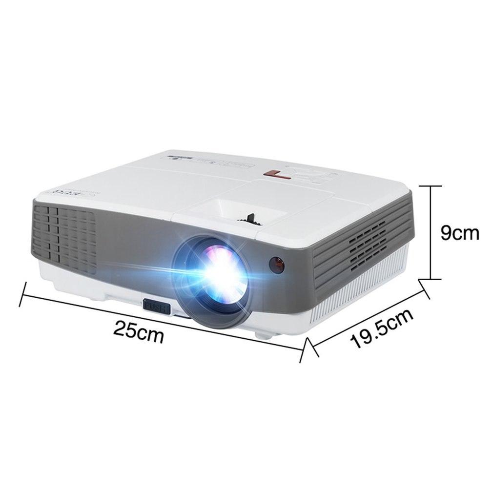 600d + проектор домашний проектор Hd светодиодный мини прочный проектор мини проектор - 4