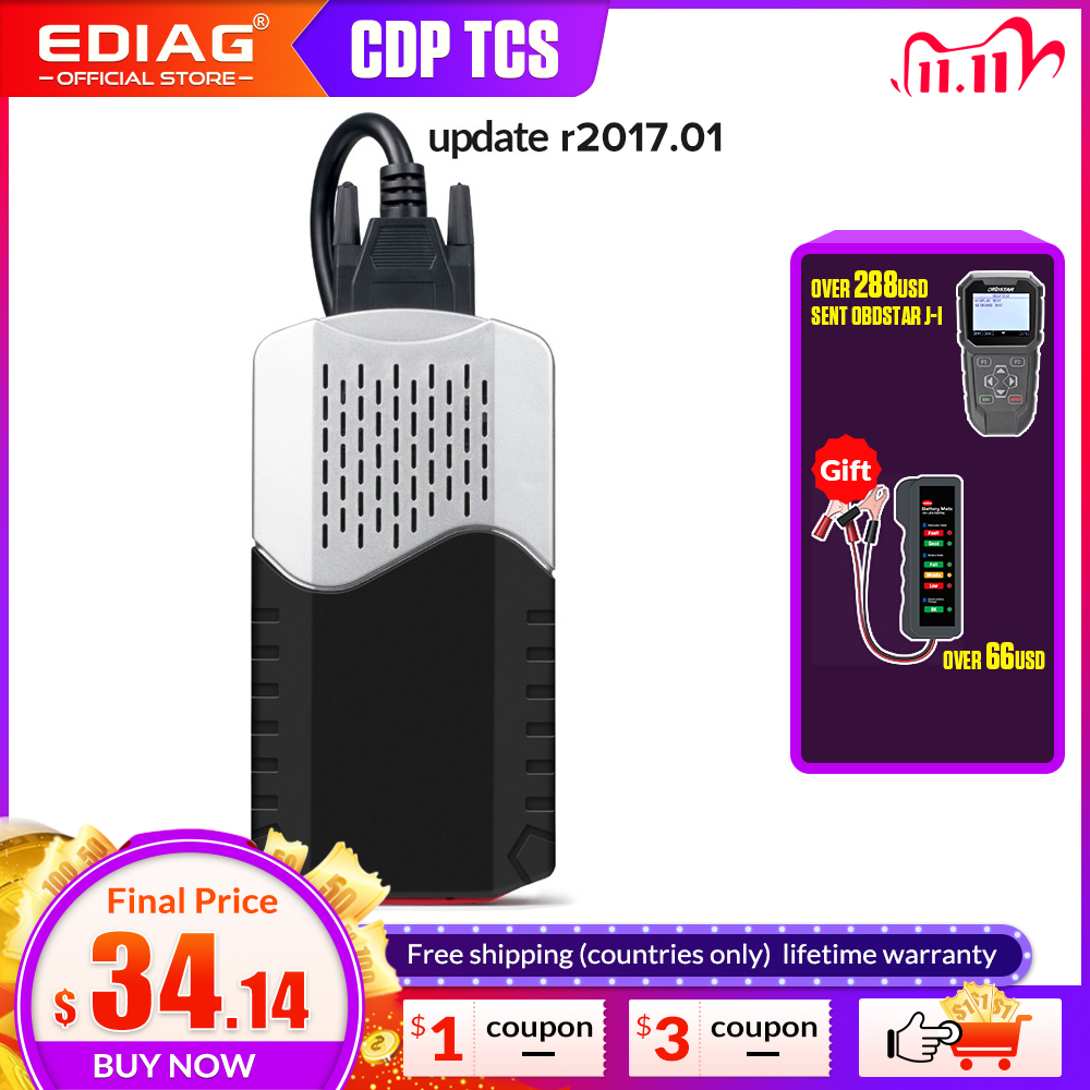 CDP TCS  Multidiag  pro Bluetooth 2017 1 Keygen V3 0 NEC  Relays OBDII 9241A Chip Obd2 Scanner Car Truck Diagnostic Tool