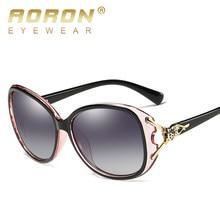 Aoron moda feminina óculos de sol polarizados estilo raposa óculos de sol acessórios uv400 Anti-UV400 óculos de sol femininos