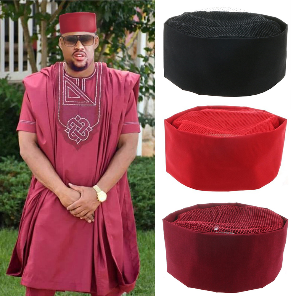 2019 South African Hat Men Fashion Hat Dashiki Men African Clothes 58-60cm Hat African