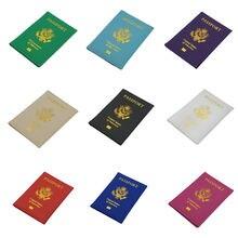 Держатель для паспорта и карт из искусственной кожи винтажные