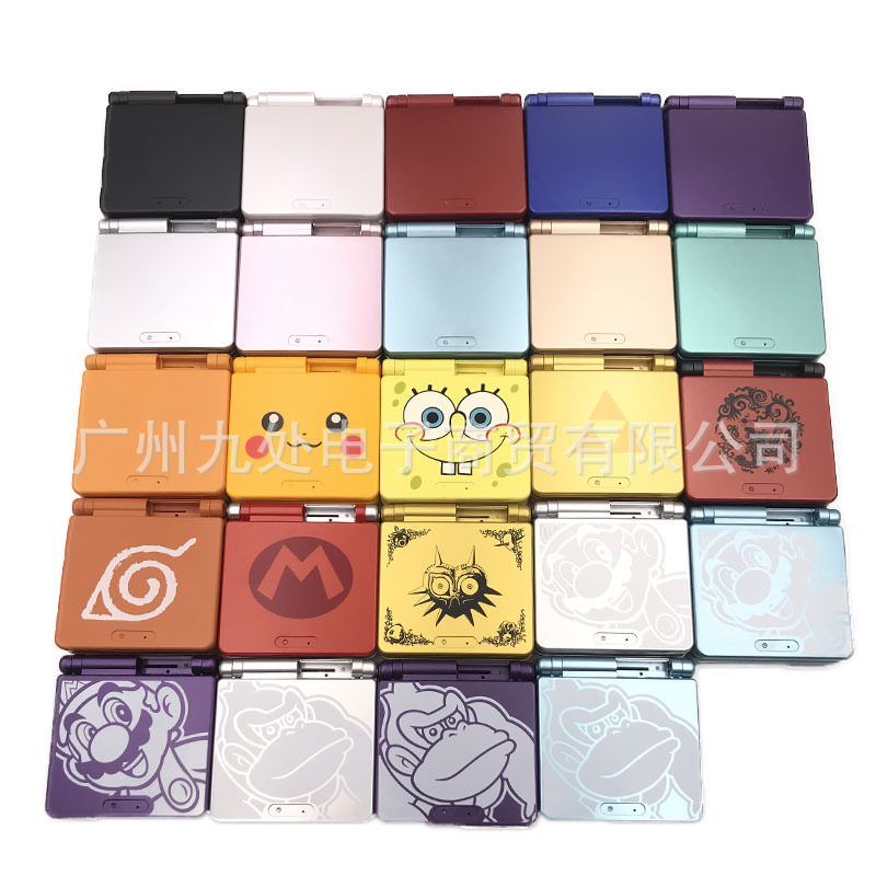NEW Limited Edition Full Housing Shell replacement for Nintendo Gameboy Advance SP for GBA SP Game Console Cover Case(China)