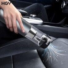 HGV el araba elektrikli süpürge kablosuz emici basınç 50W 5000pa şarj edilebilir güçlü emiş HEPA filtrasyon araba