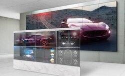 2*3 Pcs 55 ''Inch Display Transparante Oled Monitor Multi Media Reclame Display Wall
