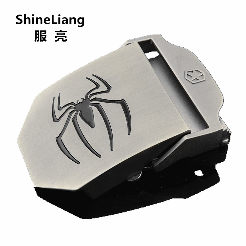 Tactical Military Canvas Men's Belt Buckle No Body Suitable For Width 3.8CM Thickness 3.5/4MM Designers High Quality Spider Logo