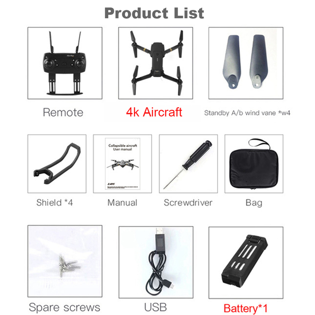 EMOTION DRONE 2.0 in-built 4k HD Professional Camera with Bag 6