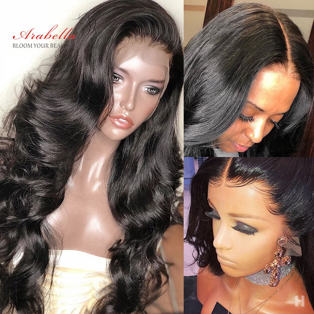 Arabella Hair Wig 13*6 Body Wave Lace Front Human Hair Wigs With Baby Hair Natural Remy Hair 150% Density Pre Plucked Lace Front