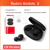 10 unids/lote Redmi Airdots 2 Xiaomi auricular Redmi Airdots S TWS Bluetooth inalámbrico verdadero auriculares estéreo con Control de voz
