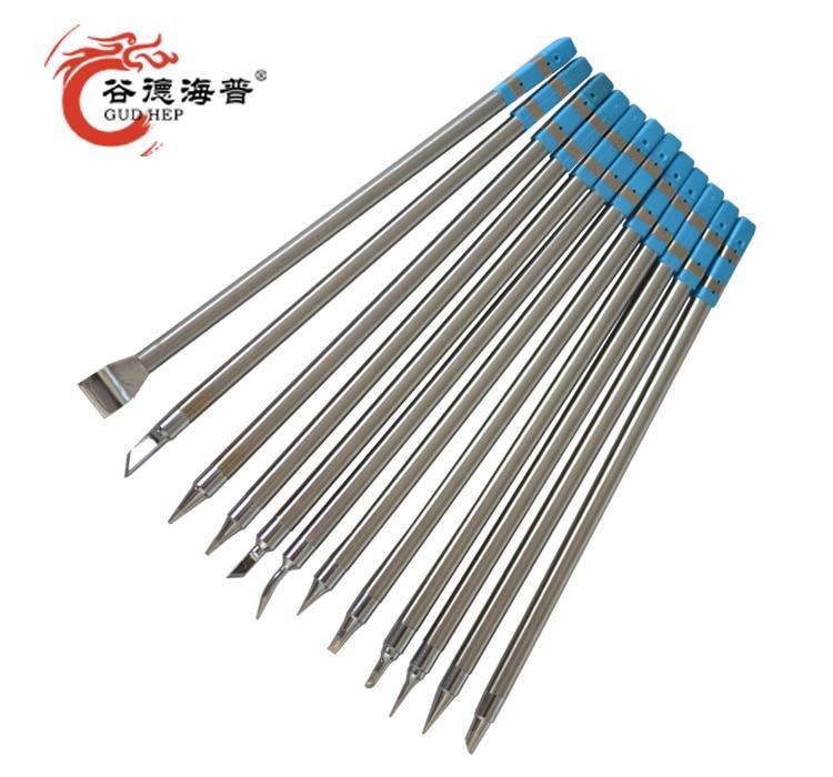 Gudhep Lead Free T90 Soldering Tips T12 Replacement Soldering Iron Tips For GD90 Soldering Rework Station
