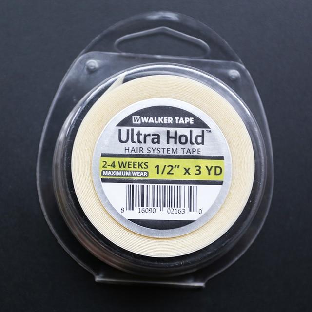"""1/2 """"x3yards ווקר קלטת ULTRA להחזיק חזקה כפולה קלטת עבור פאות ופאה. פאה דבק קלטת"""