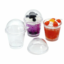 цена на 20Pcs mini Frappuccino Cup Cake Ice Cream decora Cups featival wedding Birthday party accessories