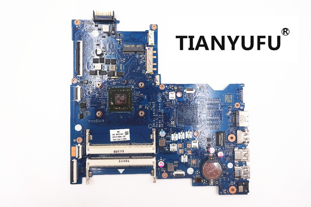 Free shipping 813967 501 813967 001 ABL51 LA C781P 15 AF motherboard For HP 15 AF Laptop  Motherboard  tested 100% work-in Motherboards from Computer & Office    1