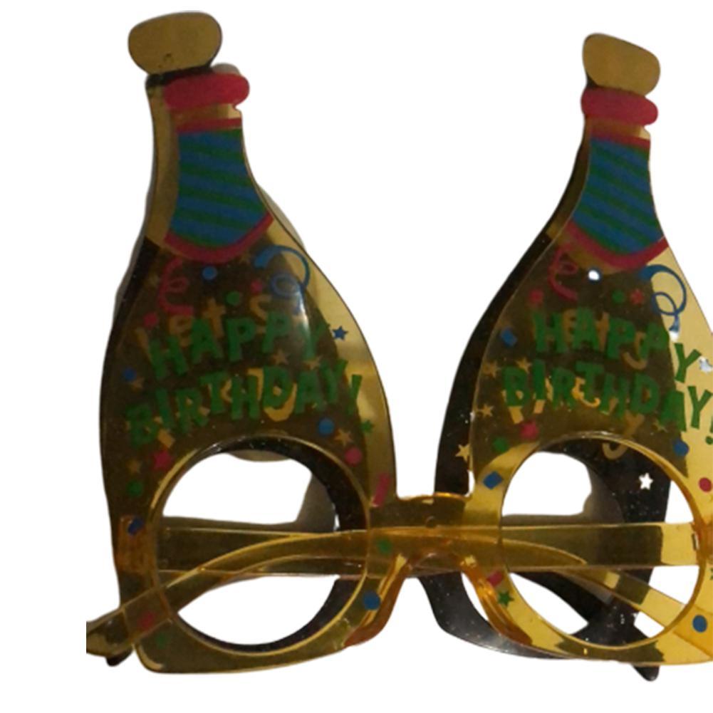 Kuulee Funny Glasses Champagne Banquet Bottle Glasses German Oktoberfest Party Theme Beer Plastic Bottle Glasses