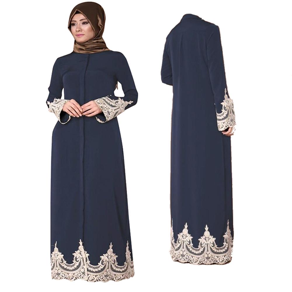 Dubai kaftan Dress Muslim Party Abaya Women Arabic Lace Cardigain Patchwork turkey Islam Prayer caftan marocain dresses islamic