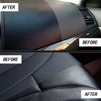Car Dashboard Maintenance Care Leather Seat Nano Ceramic Coating Upholstery Cleaner Plastic Part Retreading Agent 4