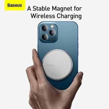 Baseus магнитное беспроводное зарядное устройство для iPhone 12 5