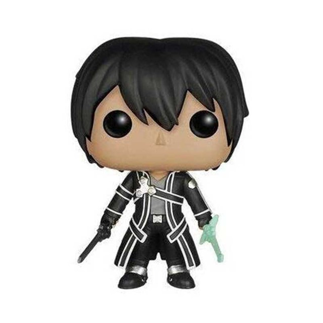 FUNKO POP SOA Sword Art Online Kirito 82# Action Figure Toys Anime Peripheral Collection Model Dolls for Kids Birthday Gifts 2