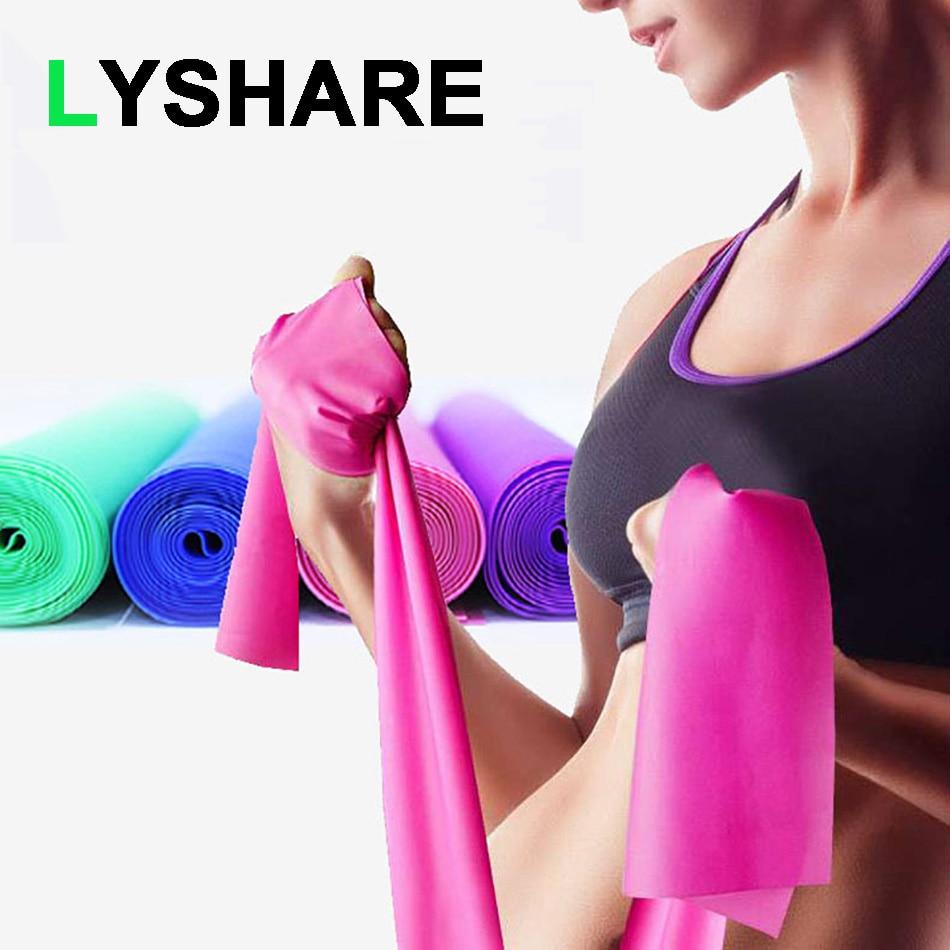 Yoga gerginlik bandı Fitness ekipmanları egzersiz direnç bantları Yoga spor eğitimi elastik bant kızlar için spor aksesuarları
