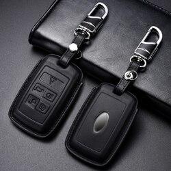 Роскошный чехол из натуральной кожи для ключей автомобиля для Land Rover Range Rover Evoque Discovery Sport 5 2018 2019