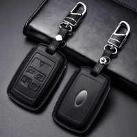 Luxury Genuine Leather Car Key Cover Case for Land Rover Range Rover Evoque Discovery Sport 5 2018 2019