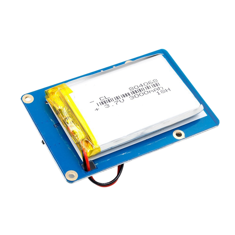 Lithium Battery Powerpack Expansion Board Dual-Usb Mobile Power Supply Charging Module For Raspberry Pi 3,2 Model B,1 Model B+
