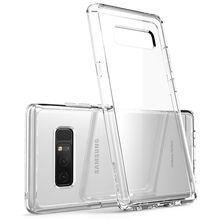 I BLASON Für Samsung Galaxy Note 8 Fall Halo Serie Anti knock Scratch Resistant Protective TPU Stoßstange + Klar Zurück abdeckung Fall