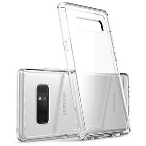Image 1 - I BLASON Voor Samsung Galaxy Note 8 Case Halo Serie Anti Klop Krasbestendig Beschermende Tpu Bumper + Clear Back cover Case