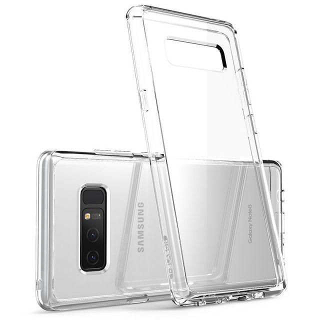 I BLASON Voor Samsung Galaxy Note 8 Case Halo Serie Anti Klop Krasbestendig Beschermende Tpu Bumper + Clear Back cover Case