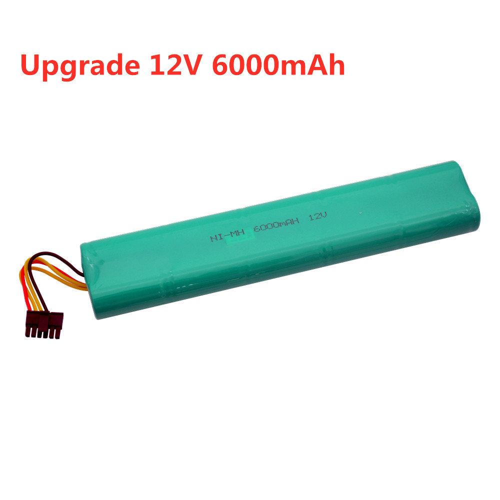 Sweeping Machine 12V 6000mAh Battery For Neato Botvac 70E 75 80 85 D75 D8 D85 Vacuum Cleaners SC 12v NiMH Rechargeable Battery