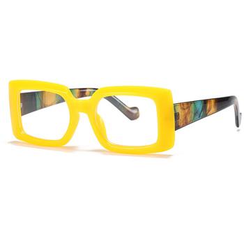 2020 nowy prostokąt okulary kobiety kwadratowe kolory okulary damskie lato styl kobieta Uv400 zielony żółty brązowy óculos De Sol tanie i dobre opinie JQZSAG WOMEN SQUARE Dla dorosłych Z tworzywa sztucznego 48mm Poliwęglan G1069 66mm Eyewear Sunglasses Driving Party Travel Shopping Christmas Gift