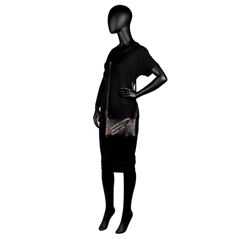 Lois Modelo Gunters Bolso Pequeño Bandolera con bolsillo cremallera delantero para la mujer urbana que quiere comodidad. 6