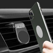 Metal Magnetic Car Phone Holder for Toyota PRADO Air Vent Clip Mount Magnet Mobile Stand GPS Display car Styling Accessories