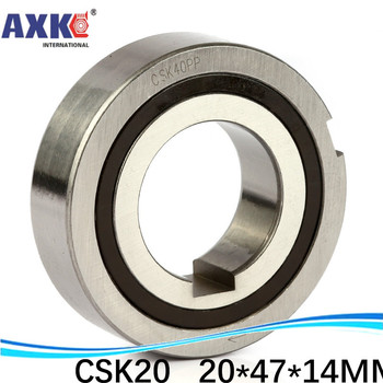 CSK20 BB20 OW6204 CSK20-2K CSK20PP 20*47*14 one way direction ball bearing, clutch backstop, with keyway clutch backstop key
