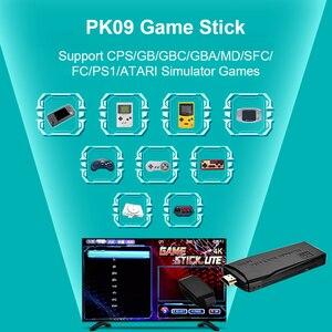 Image 5 - Powkiddy PK 09 Mini TV Console de Jeu Vidéo Intégré 3000/10000 Jeux Joueur Bâton Kit Soutien 1080P Compatibles HDMI Sortie