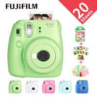 Nuevo Fujifilm InstaxMini 9 regalo gratis para Polaroid InstantPhoto Camera FilmPhoto Camera 5 colores instax photocamera