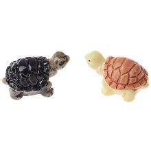 Garden-Decoration Doll-House Terrarium Miniature Fairy Turtle DIY 1pcs Tortoise